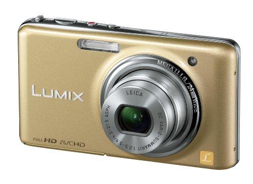 Panasonic デジタルカメラ LUMIX FX77 レオパードゴールド DMC-FX77-N