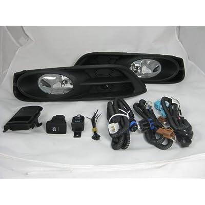 2012 -2013 Honda Civic Coupe 2 Doors Fog Lights Lamp Replacement Kit