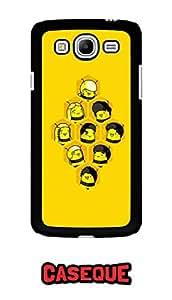 Caseque Leaving Home Corona Back Shell Case Cover For Samsung Galaxy Mega 5.8