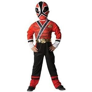 Power Rangers - I-881831L - Déguisement - Costume Classique - Power Rangers - Rouge - Taille L