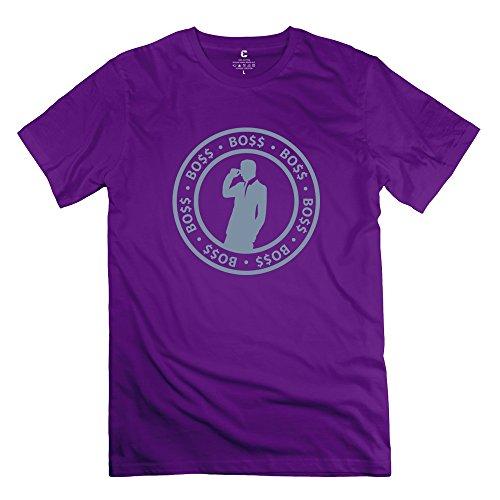 Boss Man Fashion Man T Shirts Size Xs Color Purple