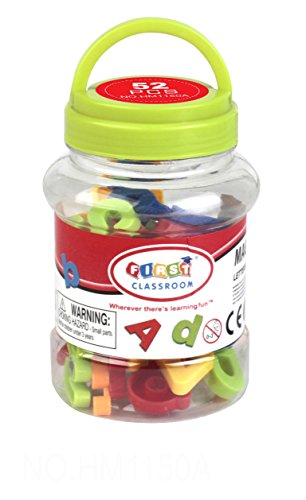 "First Classroom 1.25"" Magnetic Letters Playset (52-Piece)"
