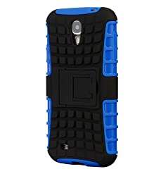 Samsung Galaxy S4 Cruzerlite Dual layer Hybrid Armour Defendor Case for Samsung Galaxy S4 - Black-Blue