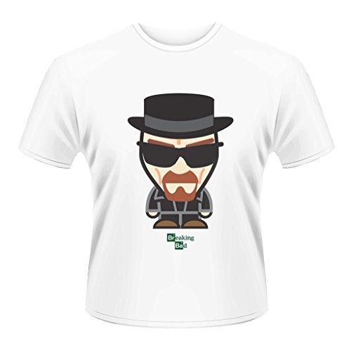 Breaking Bad Heisenberg Minion Walter White ufficiale Uomo maglietta unisex (XX-Large)