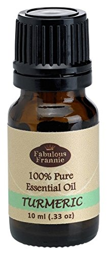 Turmeric 100% Pure, Undiluted Essential Oil Therapeutic Grade - 10ml- Great For Aromatherapy