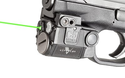 Viridian C5l Universal Sub-compact Green Laser Sight With Tactical Light by Viridian Green Laser Sights