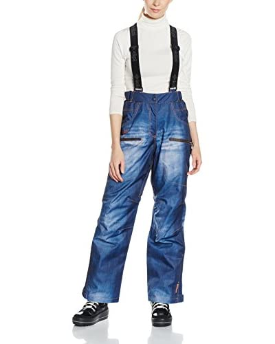 Kilpi Pantalón Esquí Jeanster-W Azul ES 38 (DE 36)