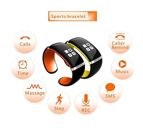 Wearable technology: Lincass L12S Bluetooth pedometer watch