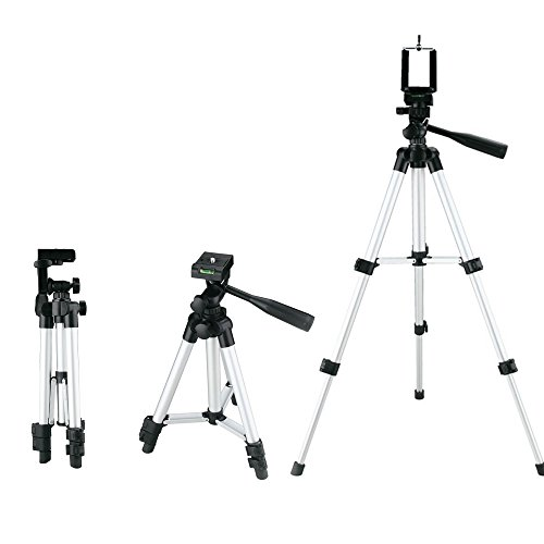 MATE Adjustable Tripod Stand Fishing Light or Camera Holder for iphone Cell Phone (Timer Tripod compare prices)