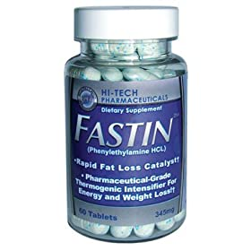 Fastin- HI Tech Phenylethylamine Weight Loss Formual, 60 Tablets