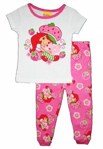 Strawberry Shortcake Toddler Girls Cotton Pajama Set (5T) front-83471