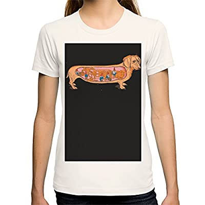 Society6 Women's Secrets Of The Dachshund T-Shirt