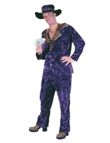 Big Daddy Purple Halloween Costume - Most Adults