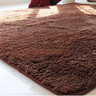 Fiber carpet / Mat / Doormat / Bath mat (Dark brown, 0.5 * 0.8 m) SM_CS00
