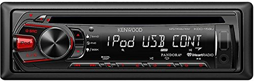 KDC-158U - Kenwood Single DIN In-Dash CD/MP3 Stereo Receiver with USB Interface