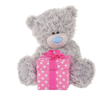 Douglas Cuddle Toys 8'' Plush Tatty Teddy Happy