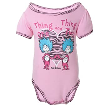 Amazon Dr Seuss Thing e And Thing Two Baby e