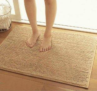 Alytimes Camel Color anti-slip microfiber carpet / doormat / floor mat / bedroom / kitchen area rug carpet (31