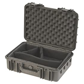 SKB Equipment Case, 9 x 7 x 6 with Mini-Latch, Dividers