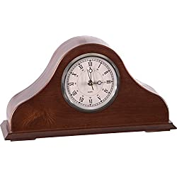 American Furniture Classics 101 Remington Mantel Clock, Brown Cherry