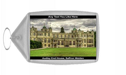 Audley End House, colore: zafferano Walden, England-Portachiavi personalizzabile