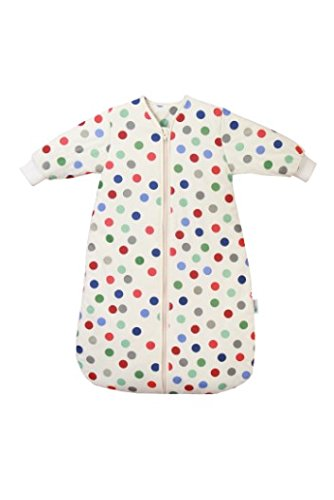 Winter Travel Baby Sleeping Bag Long Sleeves 3.5 Tog - Bubble Dot - 1