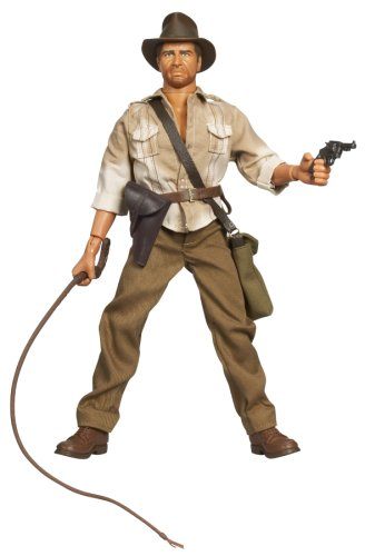 Picture of Hasbro Indiana Jones 12 Inch Figure - Indiana Jones With Whip Action (B000XUBH9U) (Hasbro Action Figures)