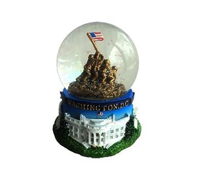 Washington DC Souvenir Snow Globe: Iwo Jima