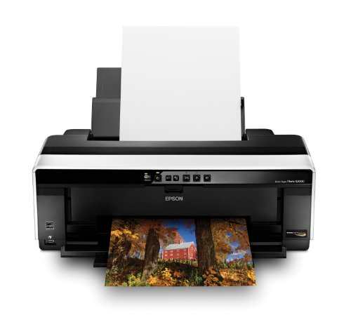 Epson Stylus Photo R2000 Wireless Wide-Format Color Inkjet Printer (C11CB35201)