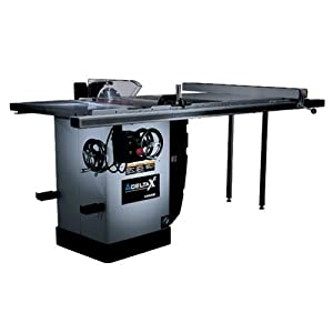Delta 36 r31x bc50 x5 10 inch right tilt 3 horsepower for 10 cabinet table saw