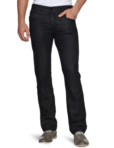 G-Star Men's Attacc Straigt 50566 Straight Leg Jeans Grey (Dk Cobler 2838) 33/34