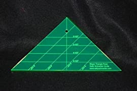 Magic Triangle Mary's Triangles Ruler Sally Schneider