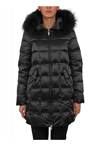 Geospirit Donna Trench Woman Jacket Beekman Fur GED0552 Col.NERO, 46