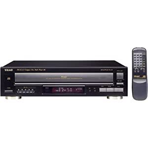 TEAC PD-D2610 5-CD Carousel Changer with MP3 CD Playback