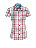 Salewa Camisa Mujer Renon 2.0 Dry W (Rojo / Cielo)