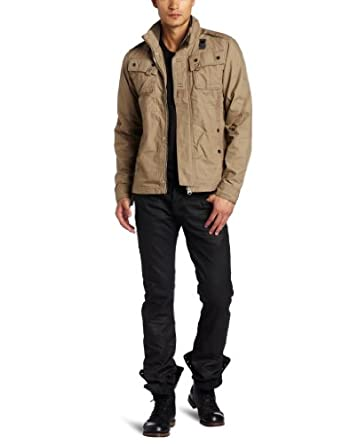 G-Star Raw Men's Halo Recolite Long Sleeve Jacket, Arizona, X-Large