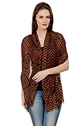 Selfiwear SW-1668 Trendy Pc.Cotton Stole/Scarf