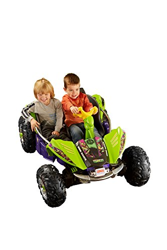Fisher-Price Power Wheels Nickelodeon Teenage Mutant Ninja Turtles Dune Racer