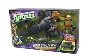 TMNT - 5420 - Figurine - Moto de Combat avec Raphael
