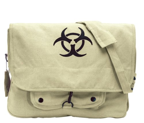 Ultra Force Bio-Hazard Vintage Messenger Bag