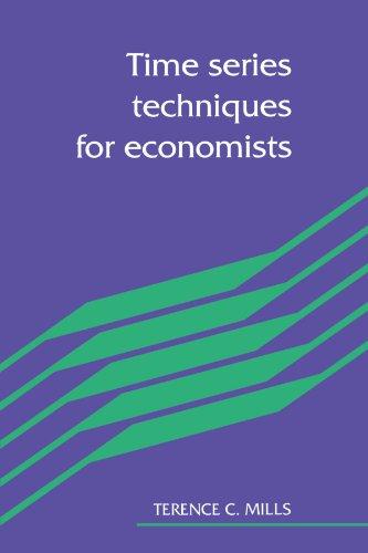 Time Series Techniques for Economists Paperback