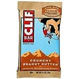 CLIF Bar Crunchy Peanut Butter 2.4oz pack of 12