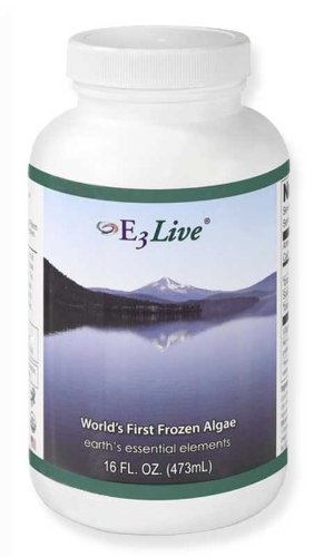 E3Live Afa Frozen Blue-Green Algae 48-Pack, 16 Oz. Bottles