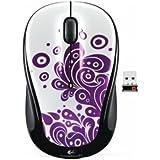Logitech 910-003006 M325 Purple Swirls Souris sans fil RF Wireless