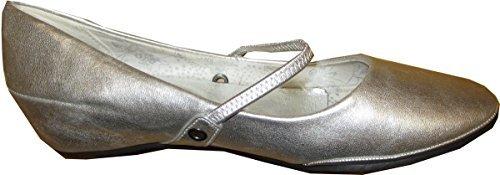 Ballerina Damen Silber von City Walk - Gr. 36 thumbnail
