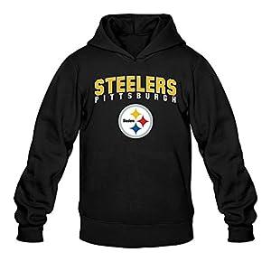 Moniz Men Pittsburgh Steelers Youth Logo Hoodie