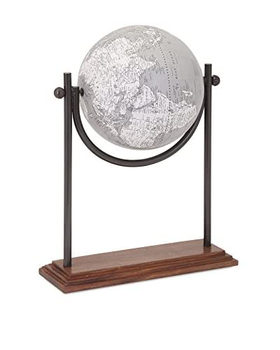 Beth Kushnick Globe with Wooden Stand