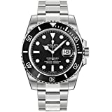 Rolex Submariner Date Black Dial Ceramic Bezel Men's Watch 116610LN (Color: Steel)