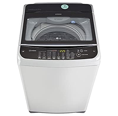 LG T7568TEELJ Fully Automatic Top Loading 6.5 kg Washing Machine (Free Silver)