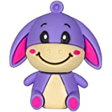 Zeztee Cartoon Character Shape 16GB Pen Drive ZTRBPD12000_PU USB 2.0 (Purple)